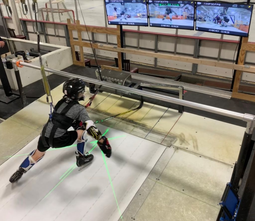 Supplement and Accelerate your game with our Skating Treadmill featuring the Stride Matrix and the Cocoon.